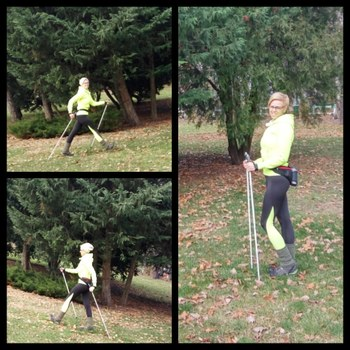 Nordic Walking technika